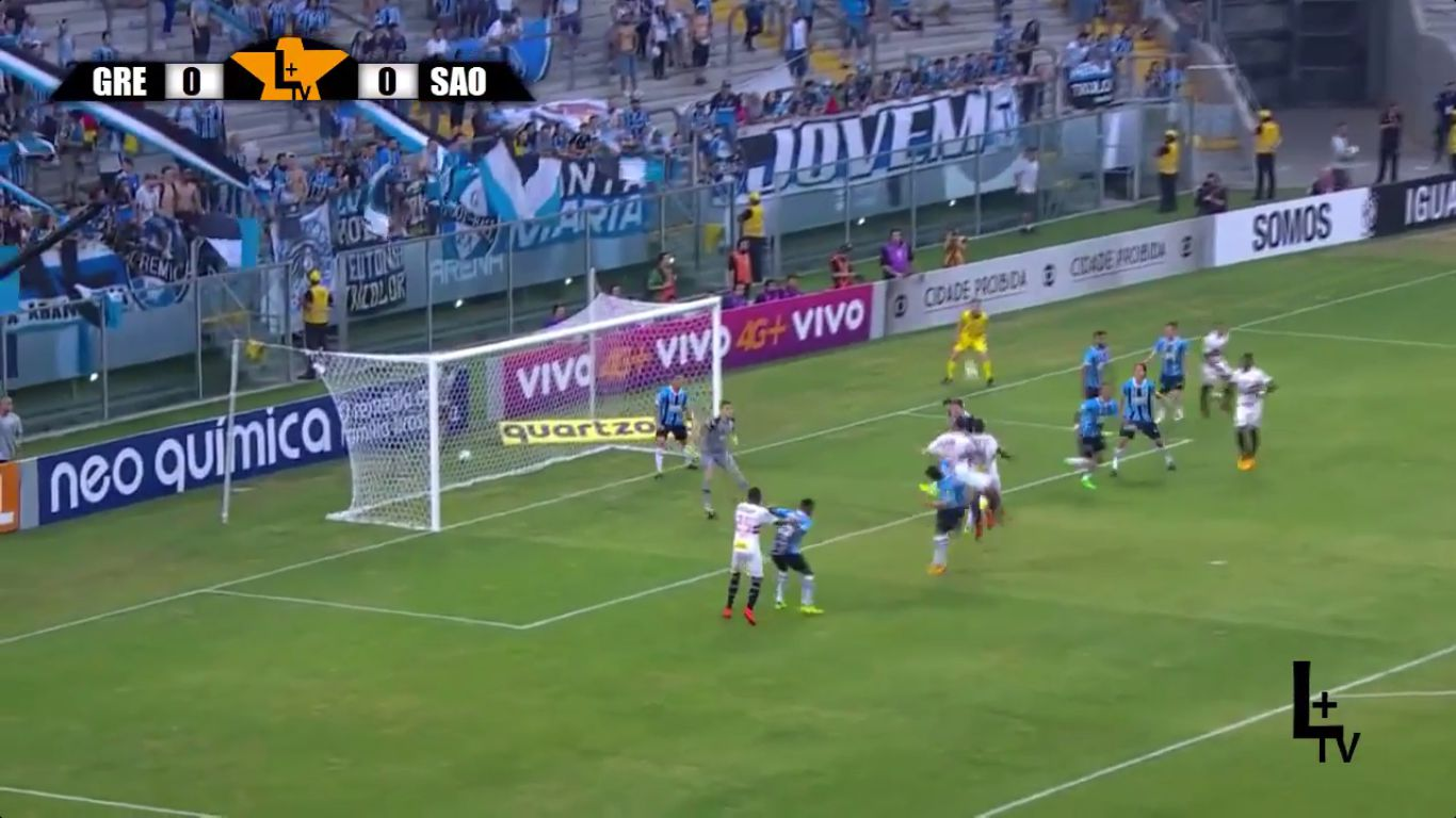 16-11-2017 - Gremio 1-0 Sao Paulo