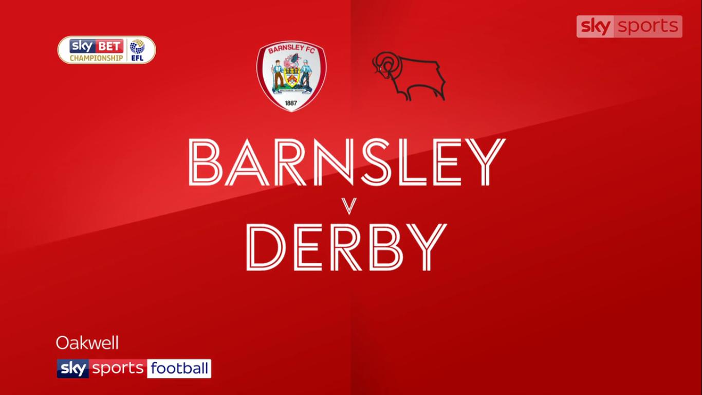 09-12-2017 - Barnsley 0-3 Derby County (CHAMPIONSHIP)