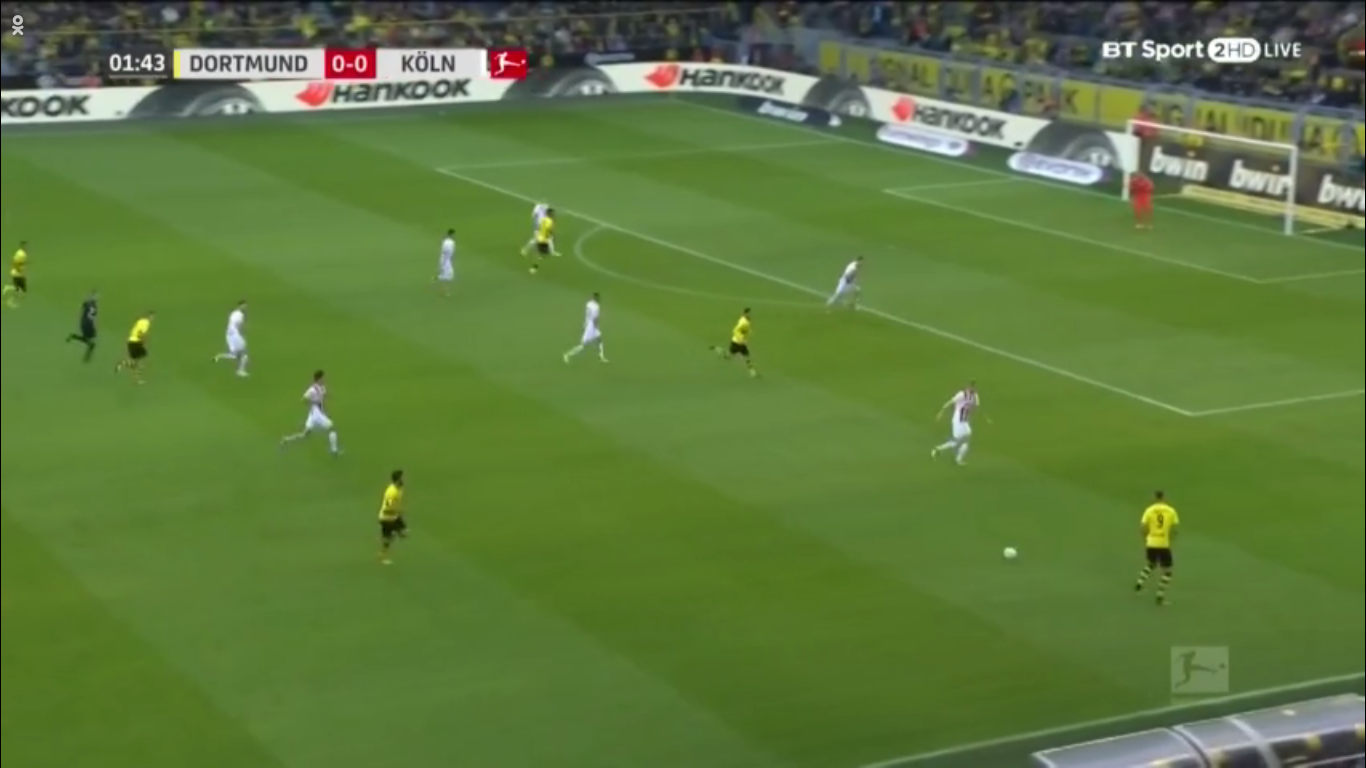 Borussia Dortmund Köln goals and highlights
