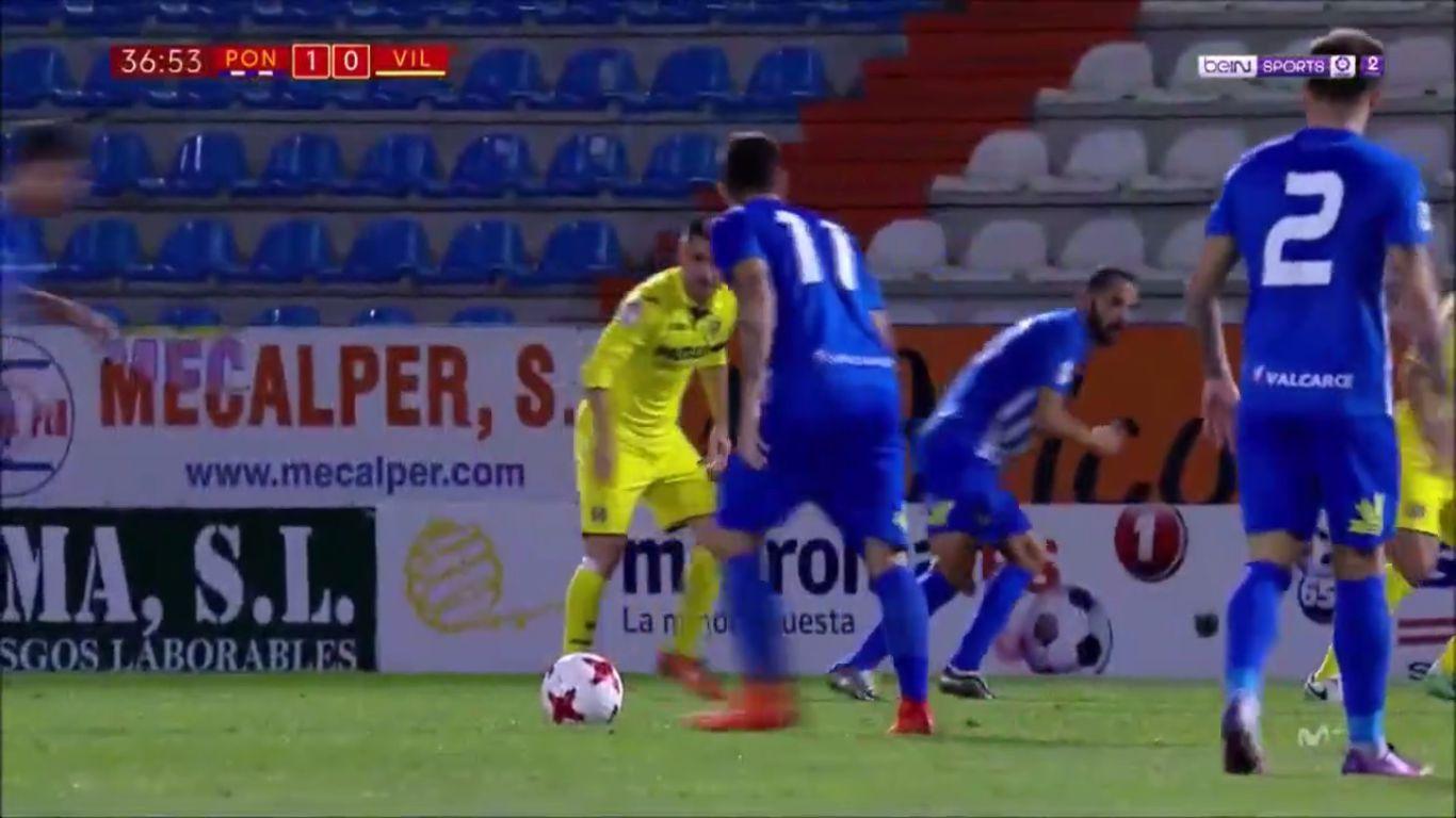 25-10-2017 - Ponferradina 1-0 Villarreal (COPA DEL REY)