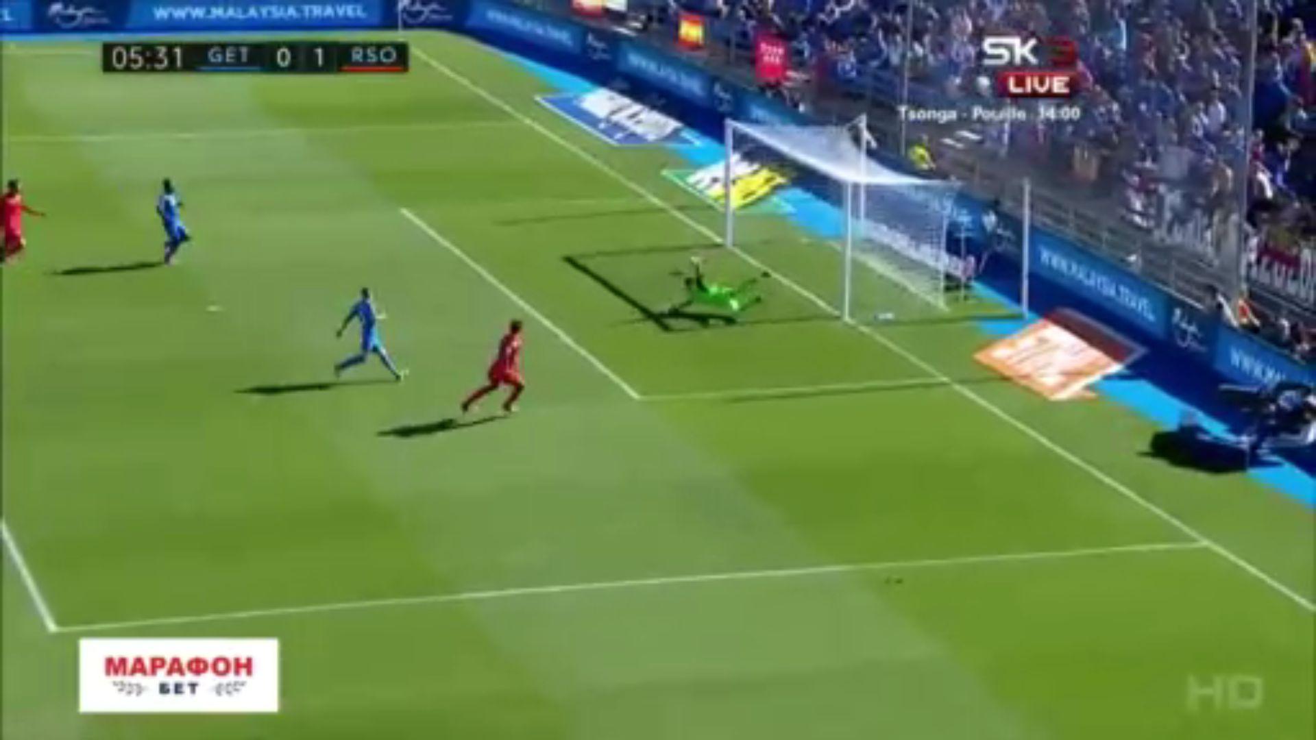 29-10-2017 - Getafe 2-1 Real Sociedad