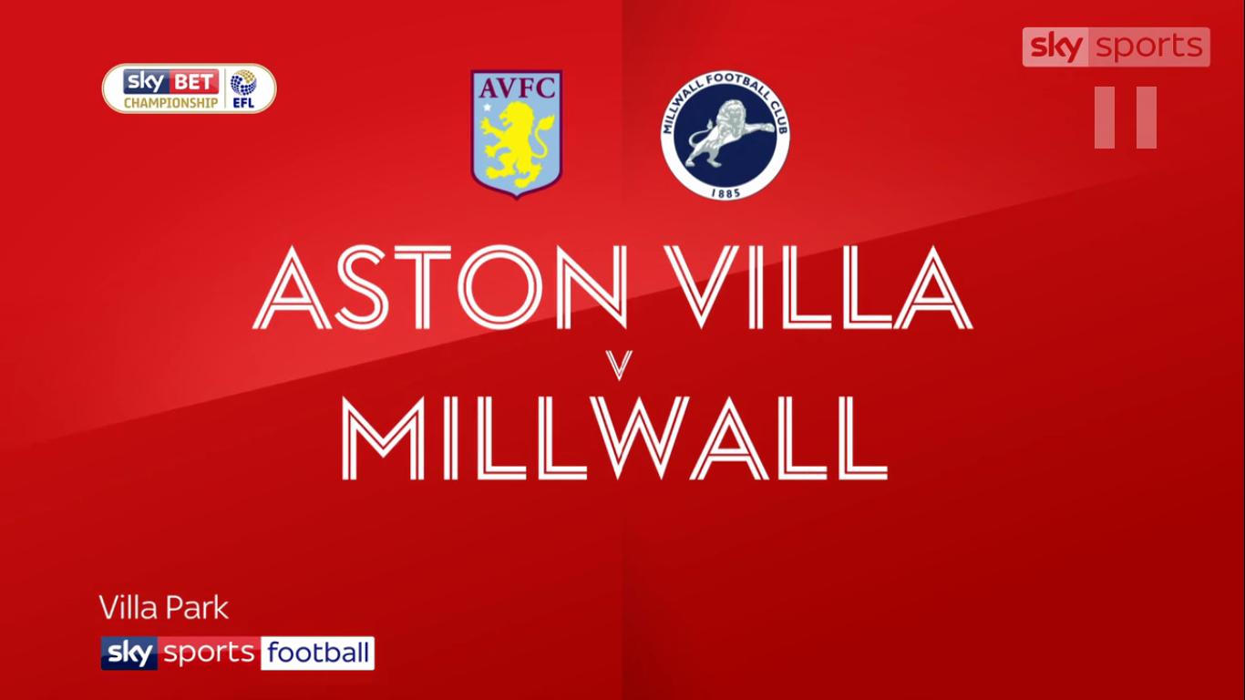 09-12-2017 - Aston Villa 0-0 Millwall (CHAMPIONSHIP)