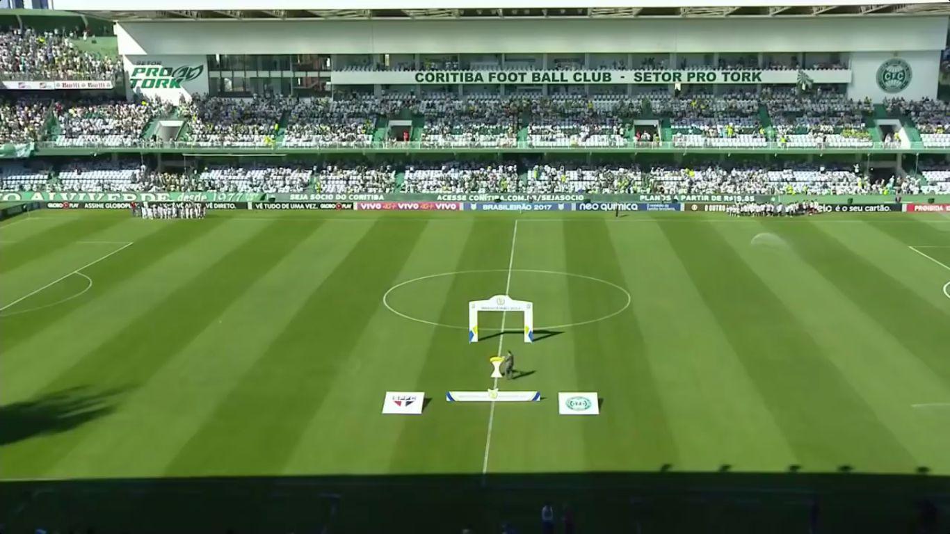 27-11-2017 - Coritiba 1-2 Sao Paulo