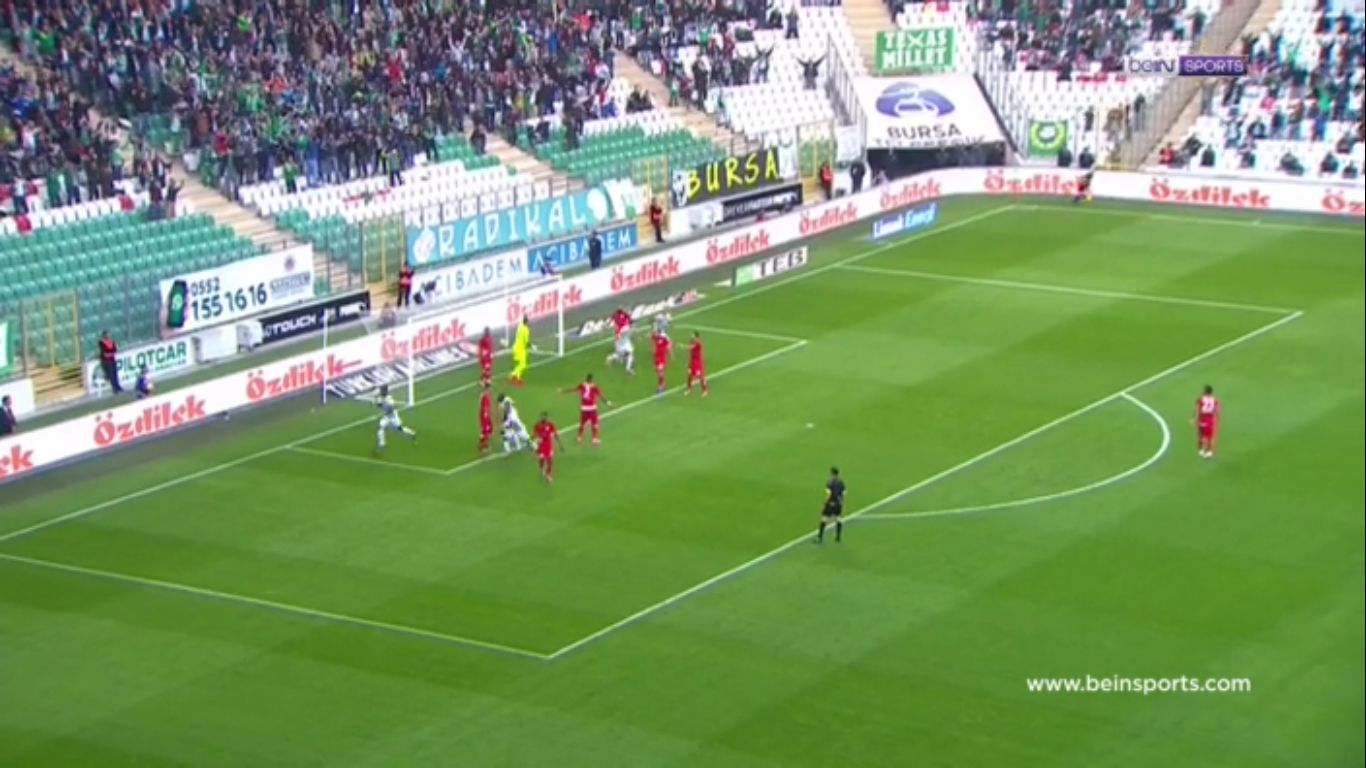 29-10-2017 - Bursaspor 4-0 Antalyaspor