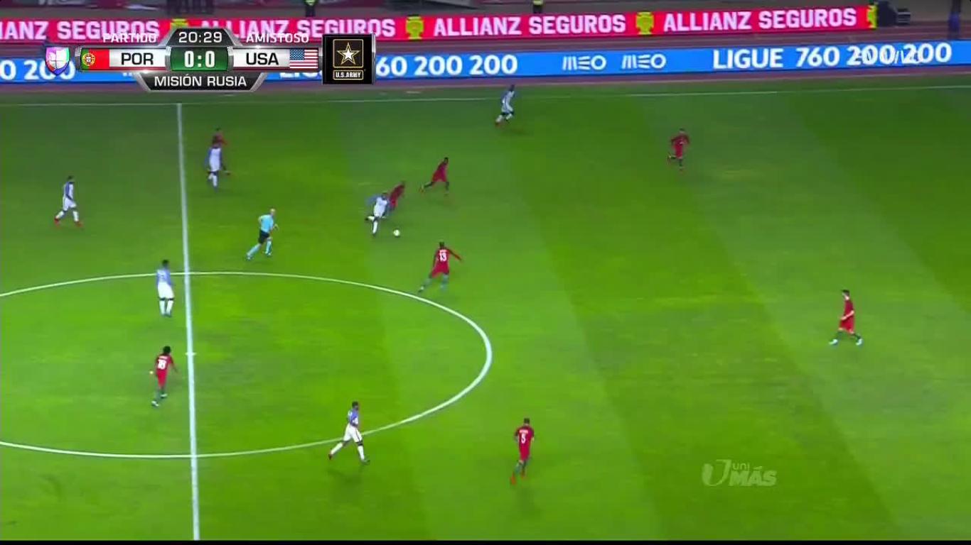 14-11-2017 - Portugal 1-1 USA (FRIENDLY)