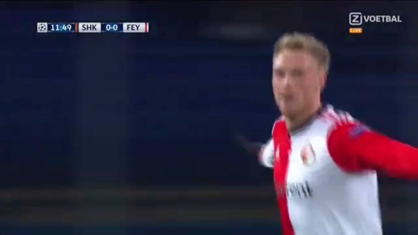 01-11-2017 - Shakhtar Donetsk 3-1 Feyenoord (CHAMPIONS LEAGUE)