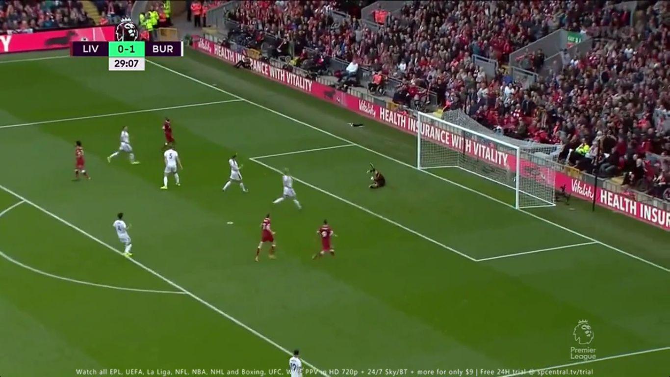 16-09-2017 - Liverpool 1-1 Burnley