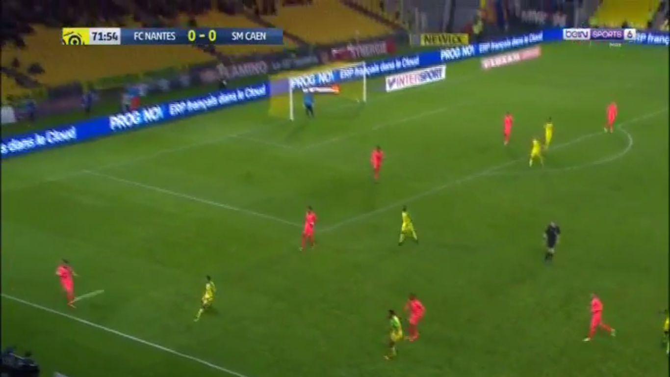 16-09-2017 - Nantes 1-0 Caen