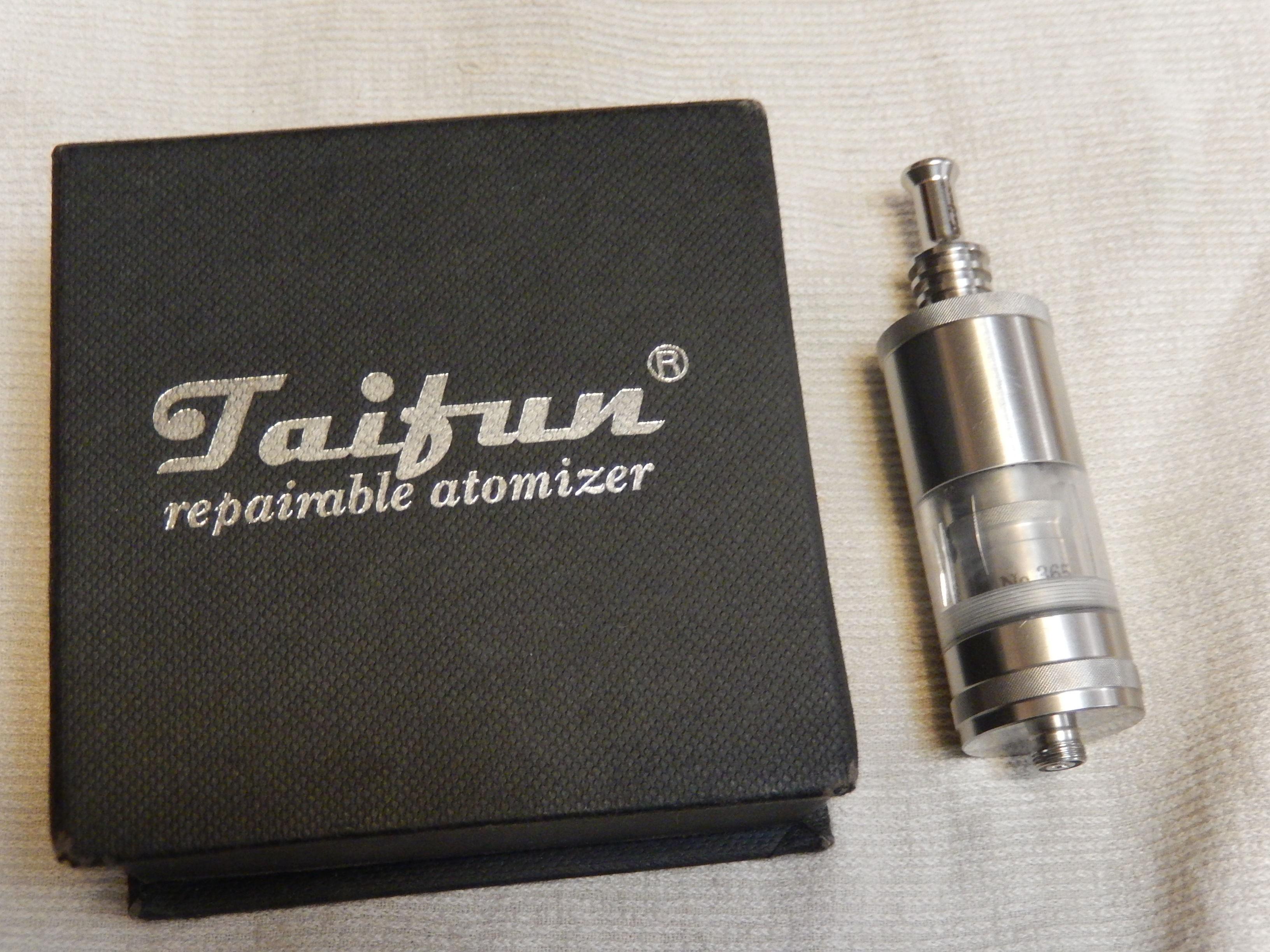 Taifun GT, Freakshow mini, аккумулятор Fenix ARB-L2 866