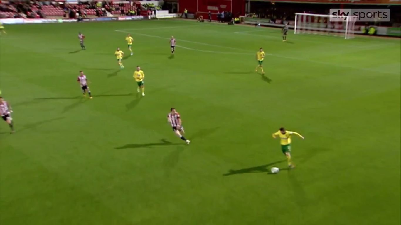 19-09-2017 - Brentford 1-3 Norwich City (EFL CUP)