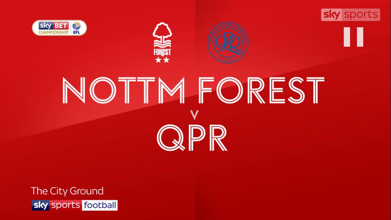 04-11-2017 - Nottingham Forest 4-0 Queens Park Rangers (CHAMPIONSHIP)