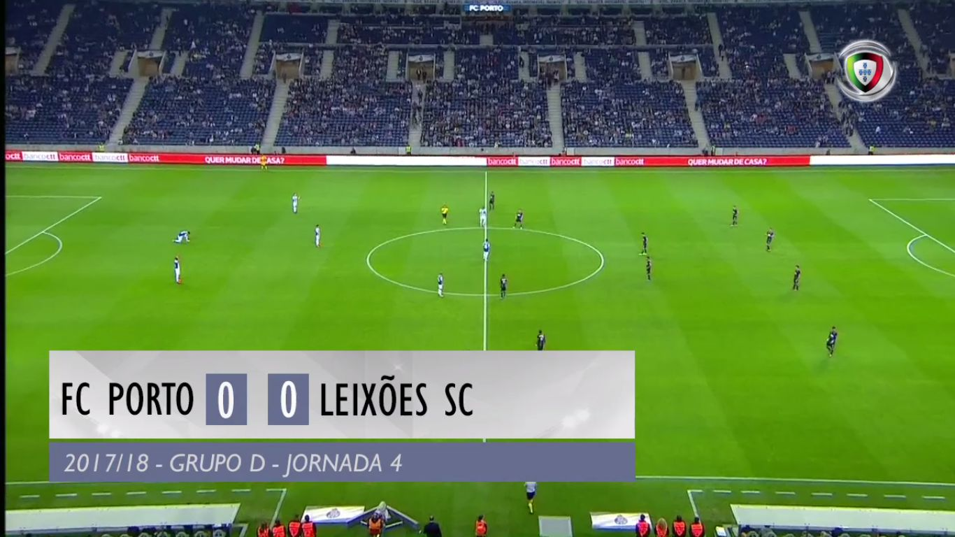 24-10-2017 - FC Porto 0-0 Leixoes (LEAGUE CUP)