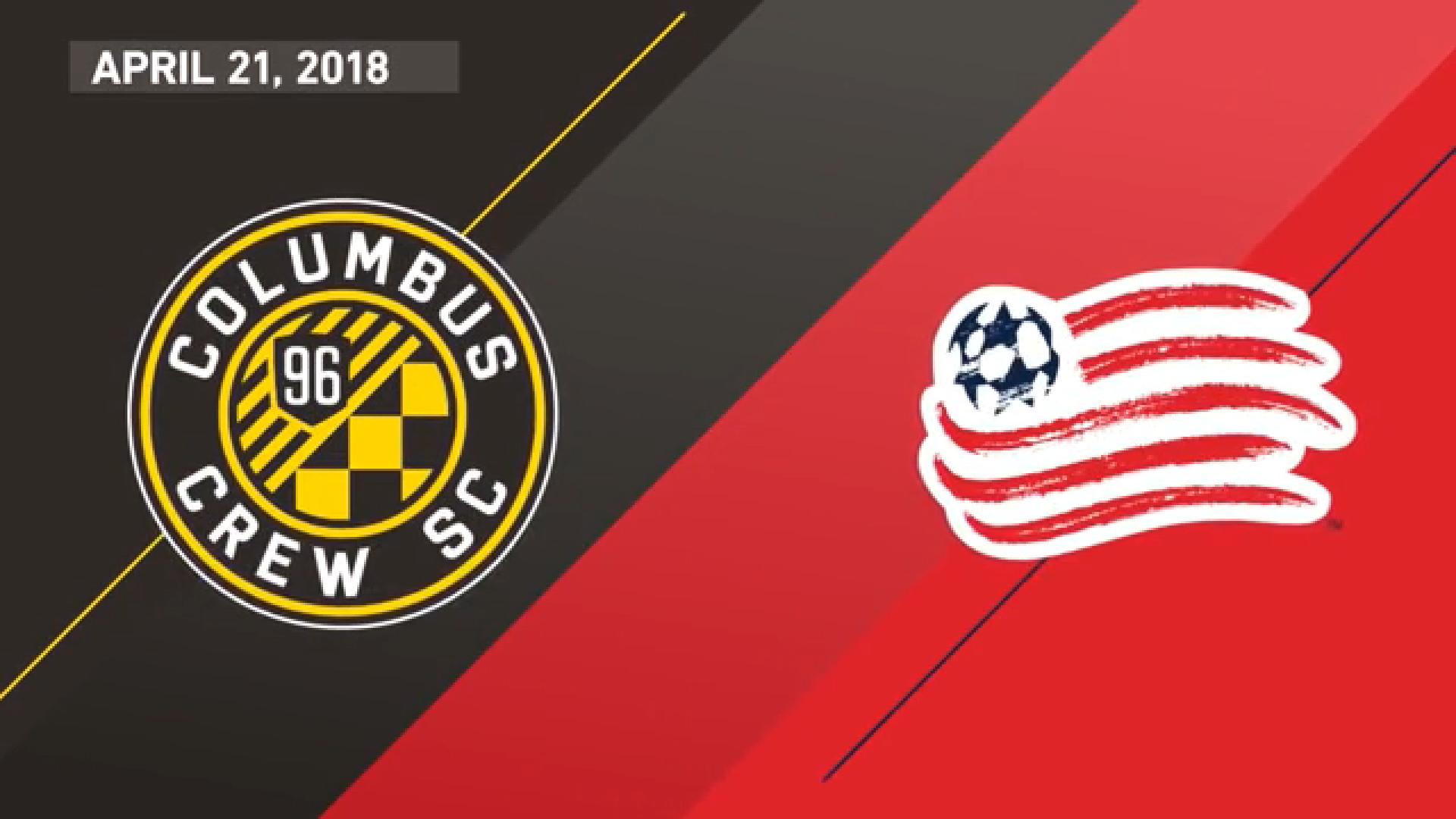 22-04-2018 - Columbus Crew 2-2 New England Rev.