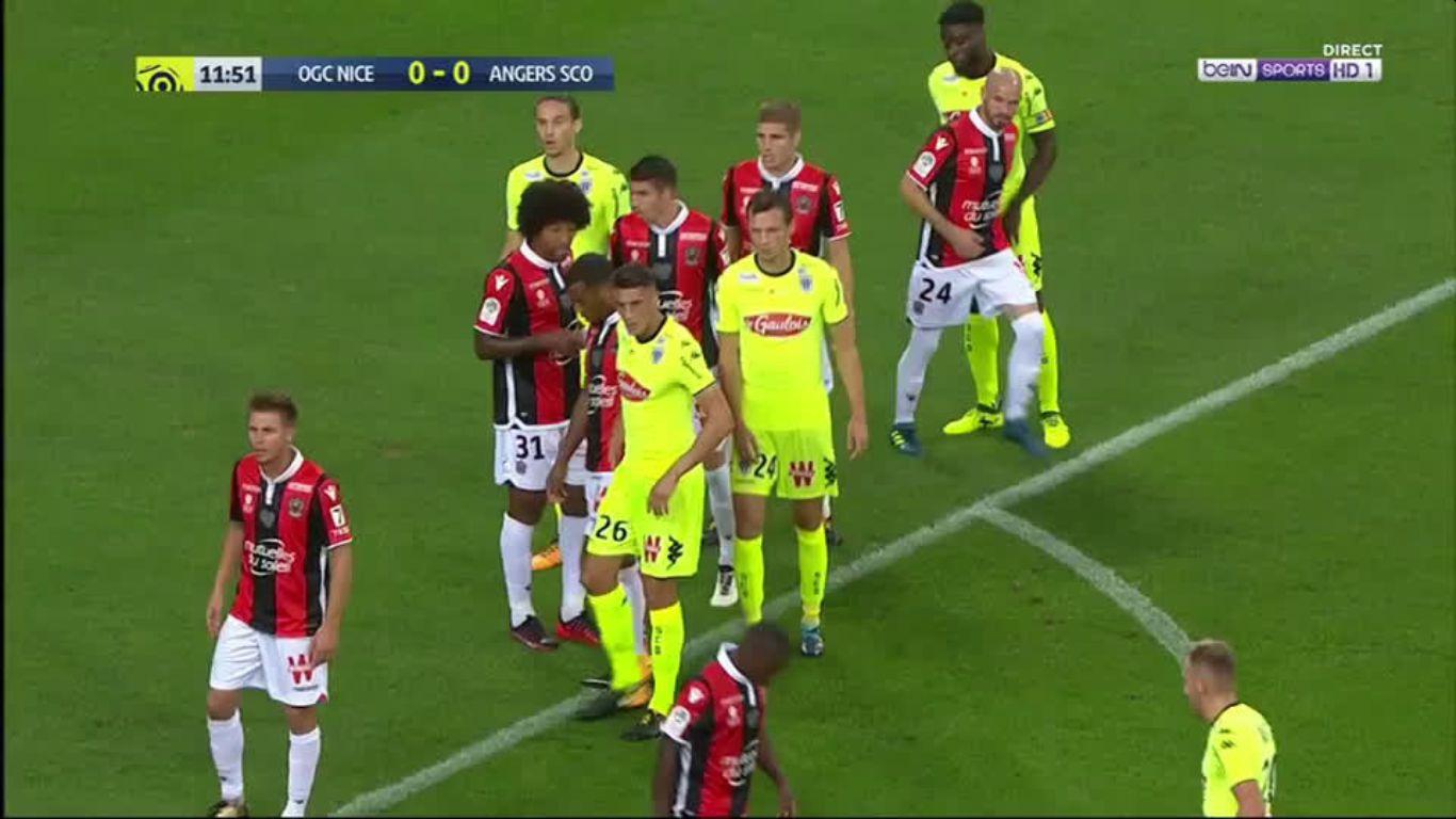 22-09-2017 - Nice 2-2 Angers