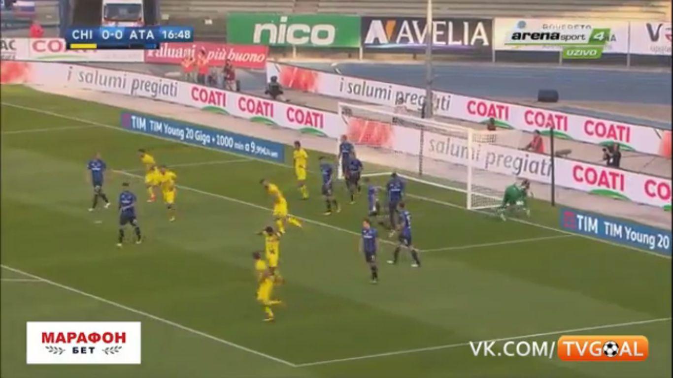 17-09-2017 - ChievoVerona 1-1 Atalanta