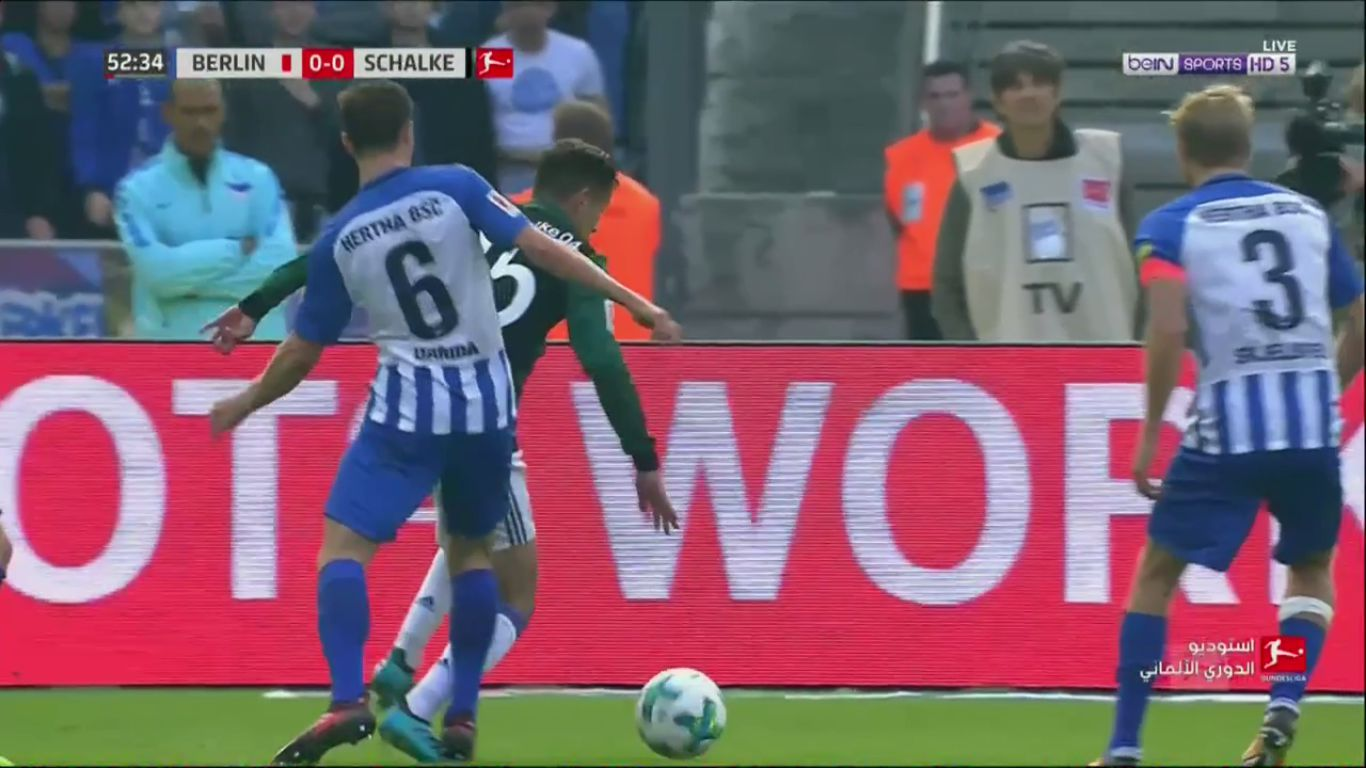 14-10-2017 - Hertha Berlin 0-2 Schalke 04