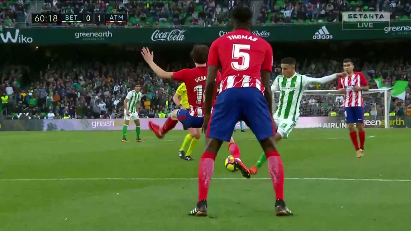 10-12-2017 - Real Betis 0-1 Atletico Madrid
