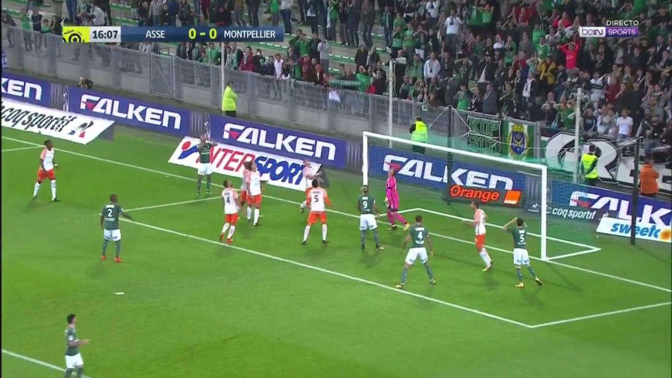 20-10-2017 - Saint-Etienne 0-1 Montpellier