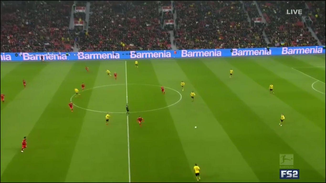 02-12-2017 - Bayer Leverkusen 1-1 Borussia Dortmund