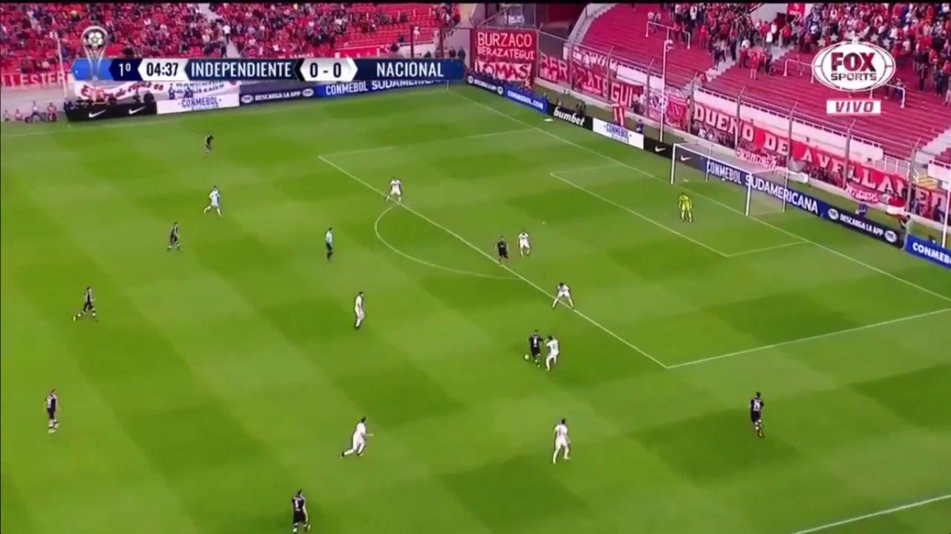 03-11-2017 - Independiente 2-0 Nacional (COPA SUDAMERICANA)