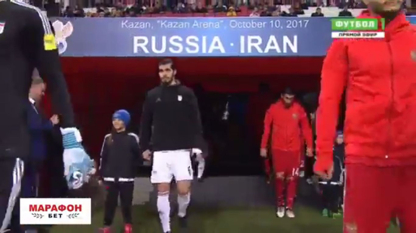 10-10-2017 - Russia 1-1 Iran (FRIENDLY)