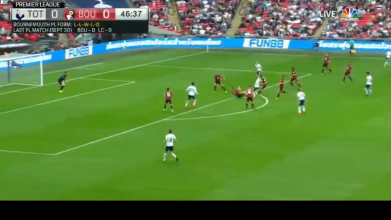14-10-2017 - Tottenham Hotspur 1-0 AFC Bournemouth