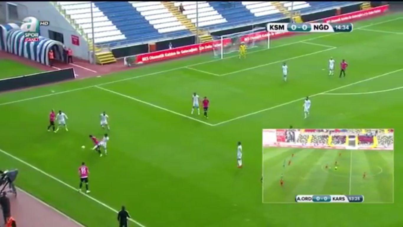 24-10-2017 - Kasimpasa 5-1 Nigde Belediyespor (ZIRAAT CUP)