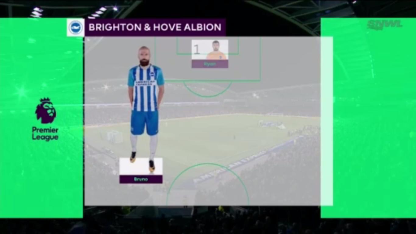 20-11-2017 - Brighton & Hove Albion 2-2 Stoke City
