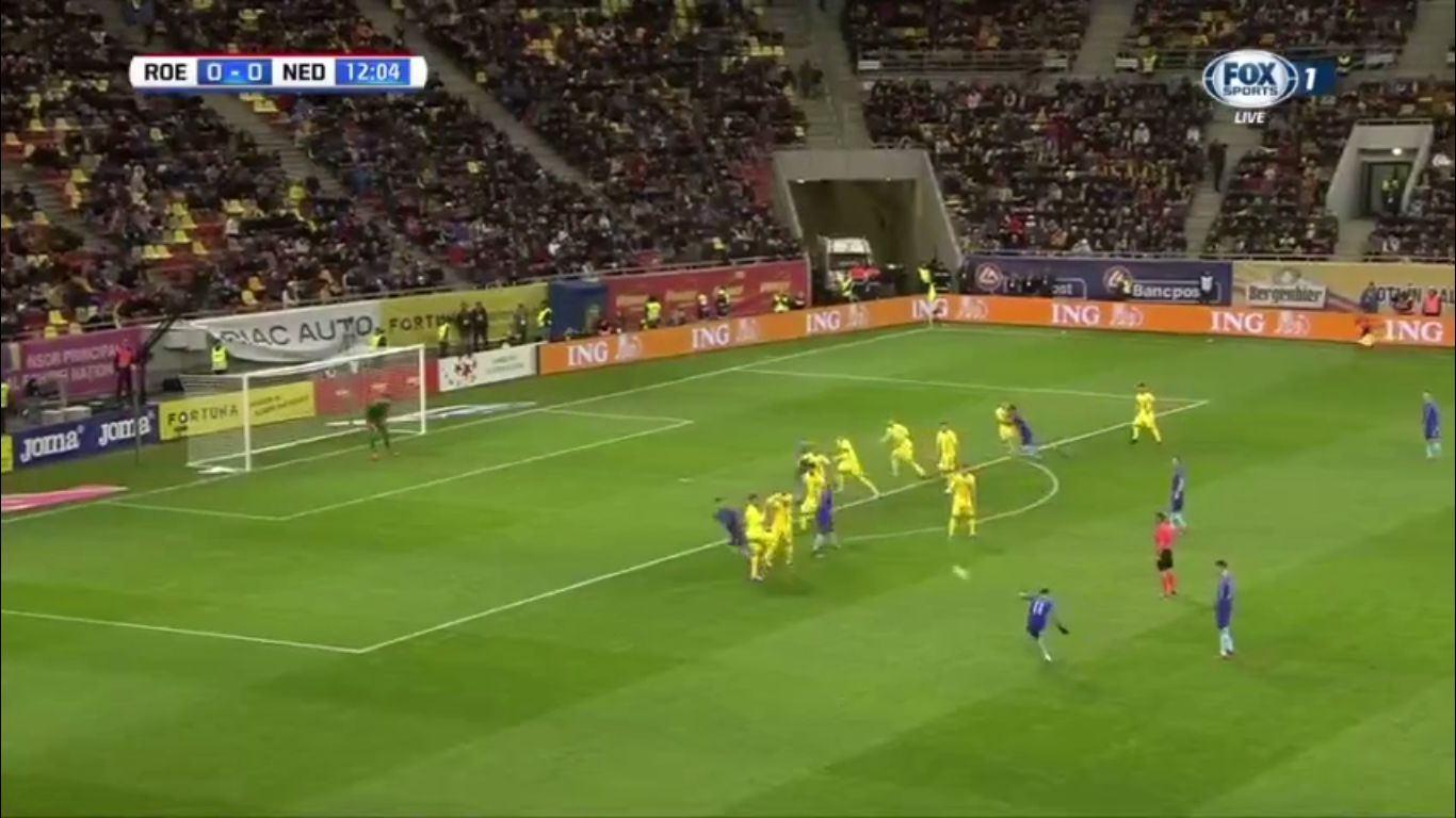 14-11-2017 - Romania 0-3 Netherlands (FRIENDLY)