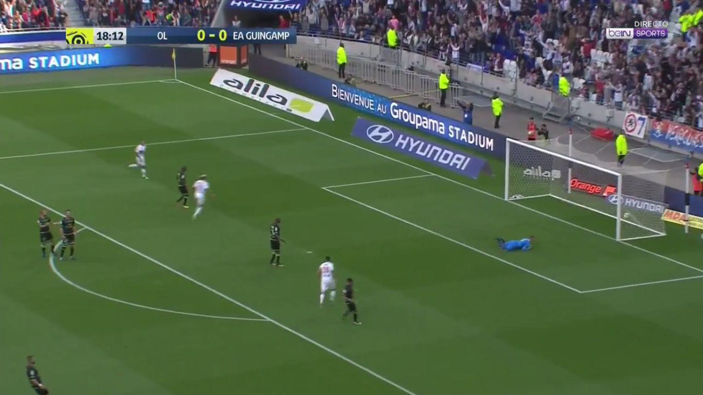 10-09-2017 - Lyon 2-1 Guingamp