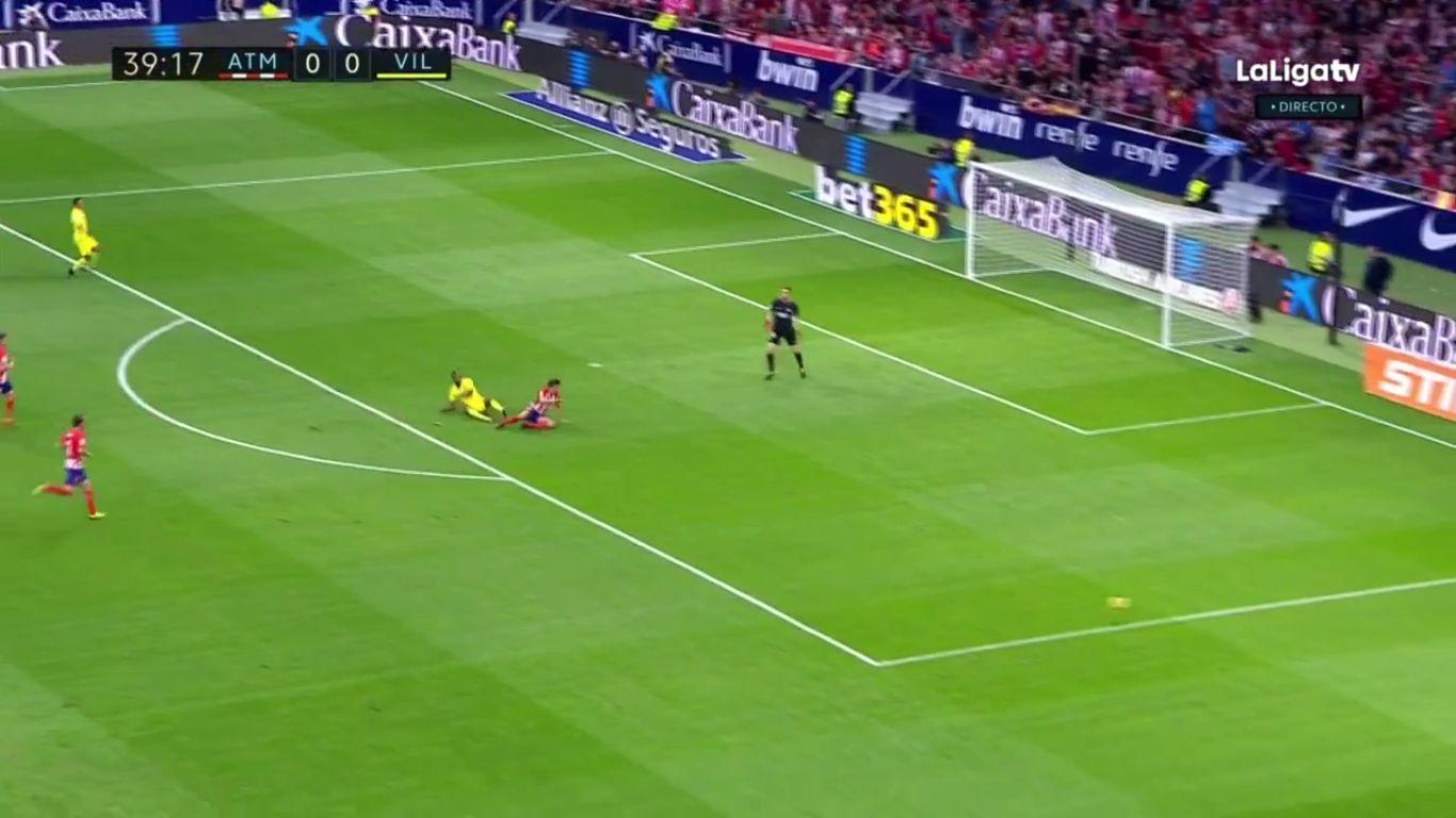 28-10-2017 - Atletico Madrid 1-1 Villarreal