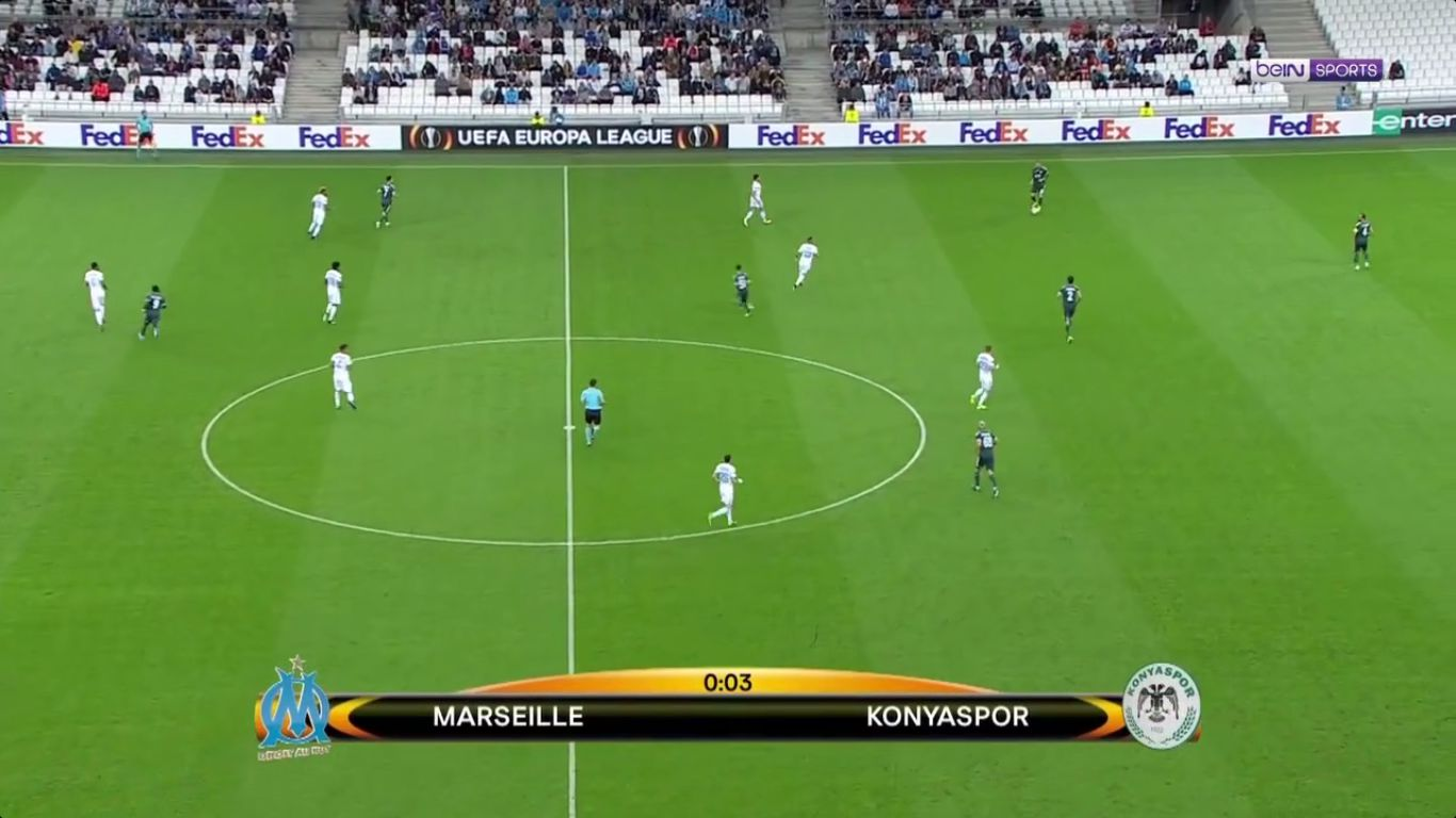 14-09-2017 - Marseille 1-0 Konyaspor (EUROPA LEAGUE)