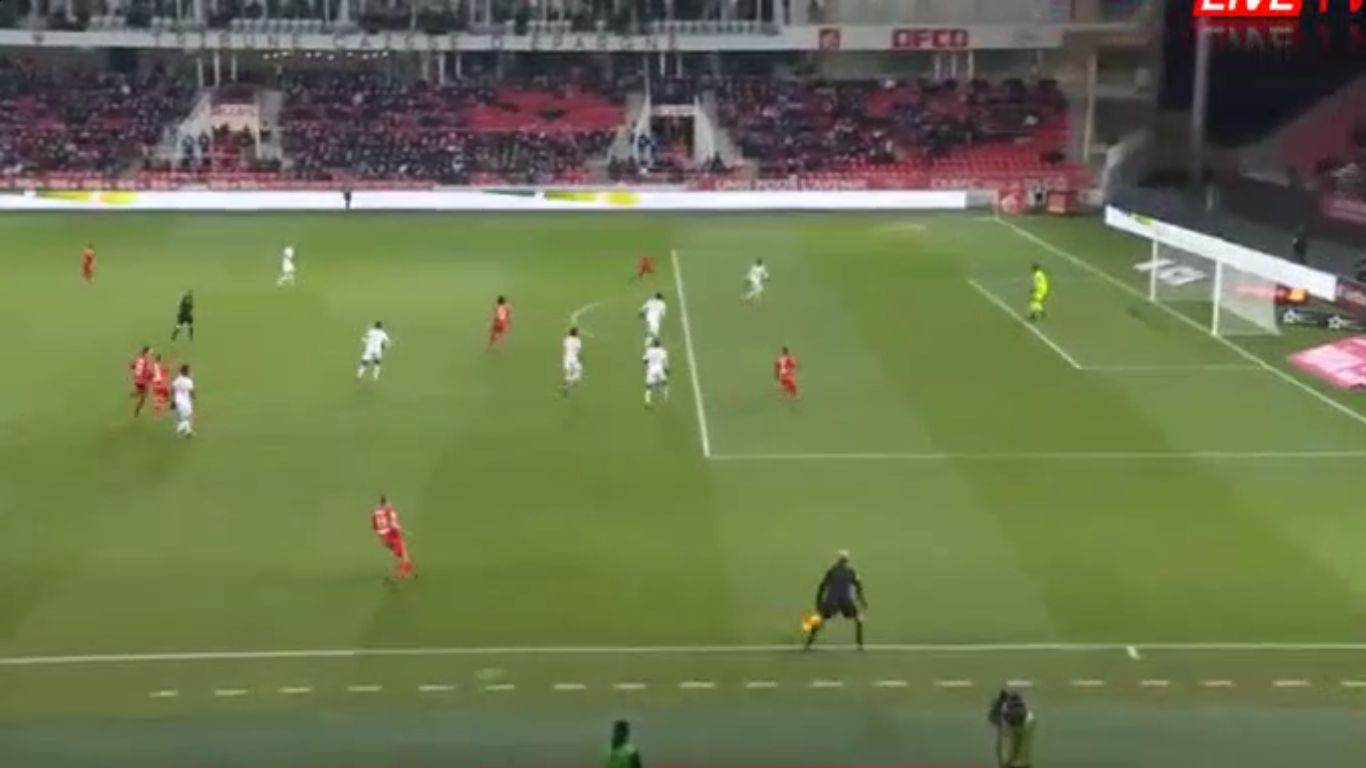 16-12-2017 - Dijon 3-0 Lille