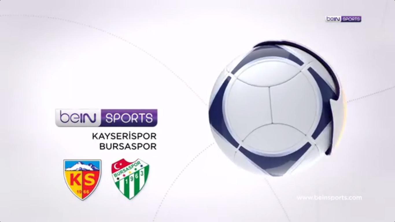 30-09-2017 - Kayserispor 3-1 Bursaspor