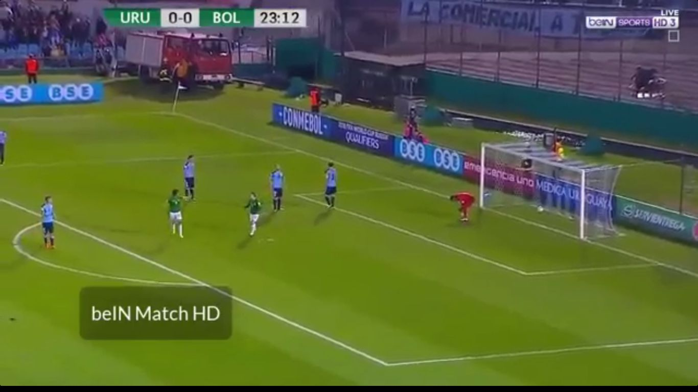 11-10-2017 - Uruguay 4-2 Bolivia (WORLD CUP QUALIF.)