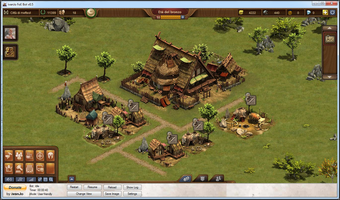 Bot per Forge of Empires