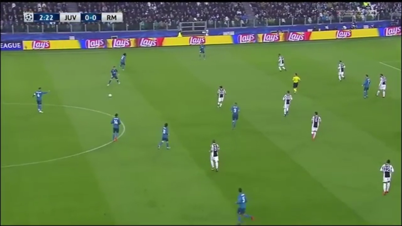 03-04-2018 - Juventus 0-3 Real Madrid (CHAMPIONS LEAGUE)