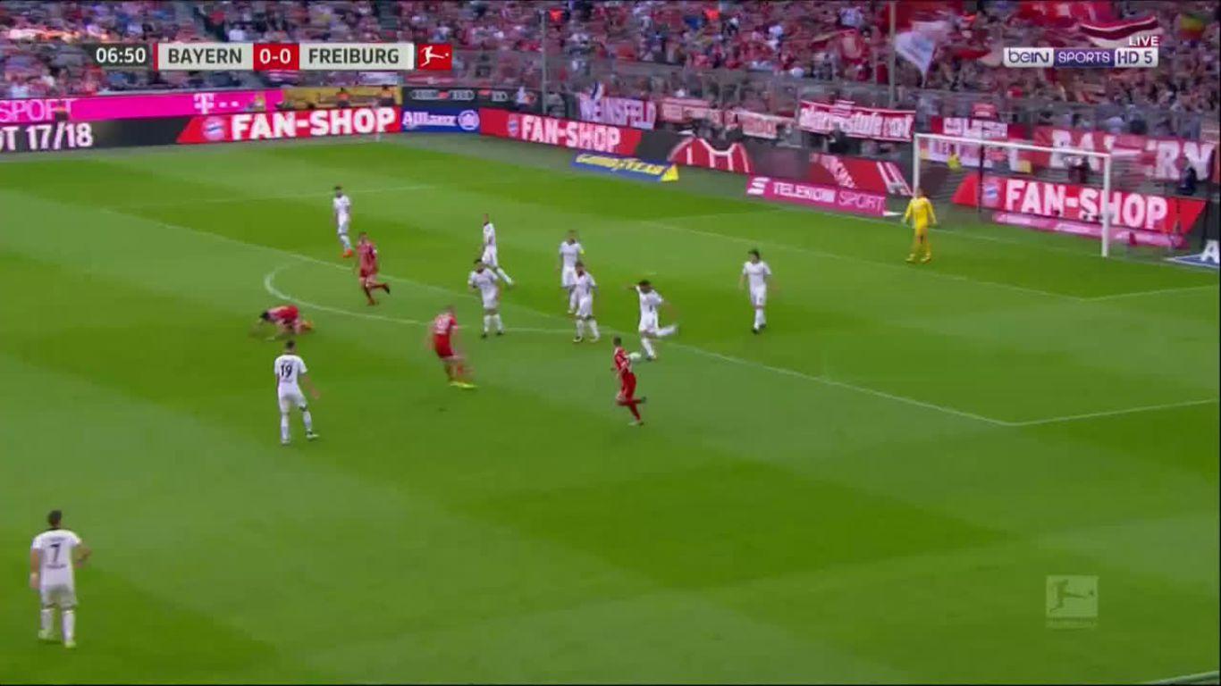 14-10-2017 - Bayern Munich 5-0 Freiburg