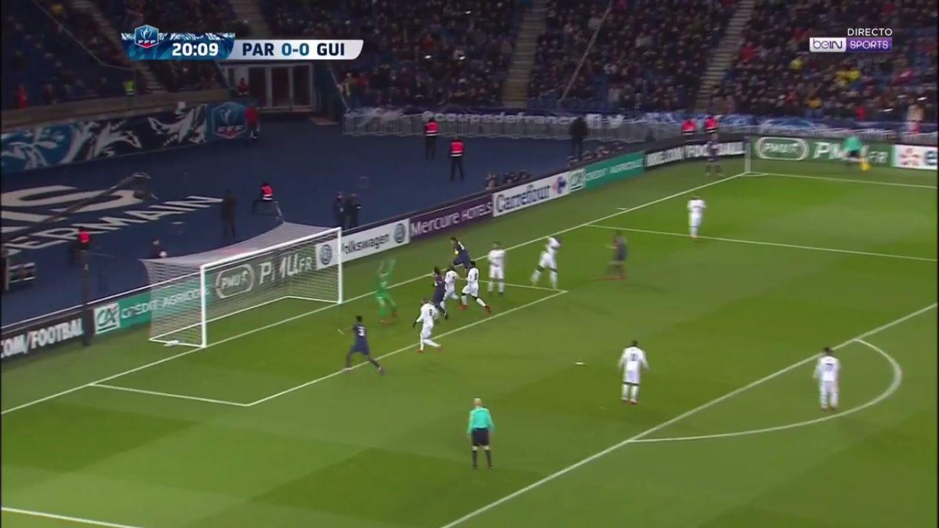 24-01-2018 - Paris Saint Germain 4-2 Guingamp (COUP DE FRANCE)
