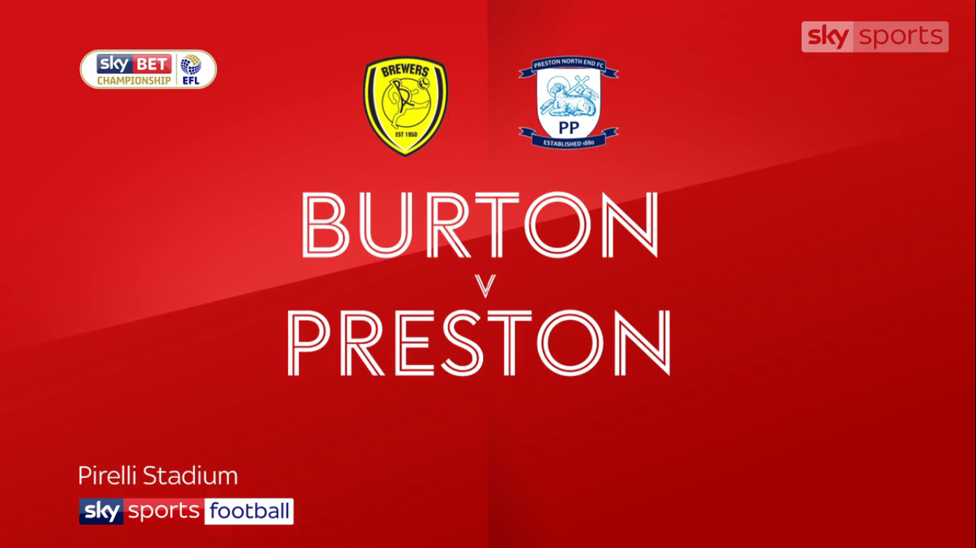 09-12-2017 - Burton Albion 1-2 Preston North End (CHAMPIONSHIP)
