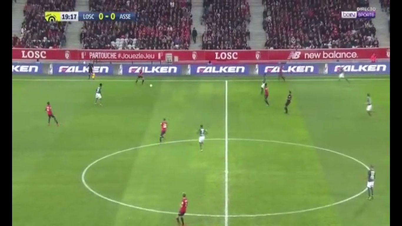 17-11-2017 - Lille 3-1 Saint-Etienne