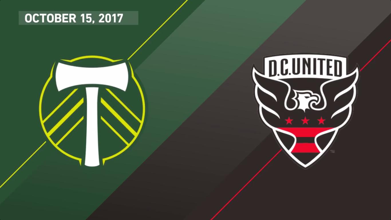16-10-2017 - Portland Timbers 4-0 DC United