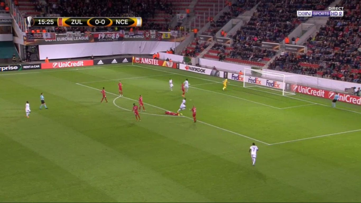 14-09-2017 - Zulte-Waregem 1-5 Nice (EUROPA LEAGUE)
