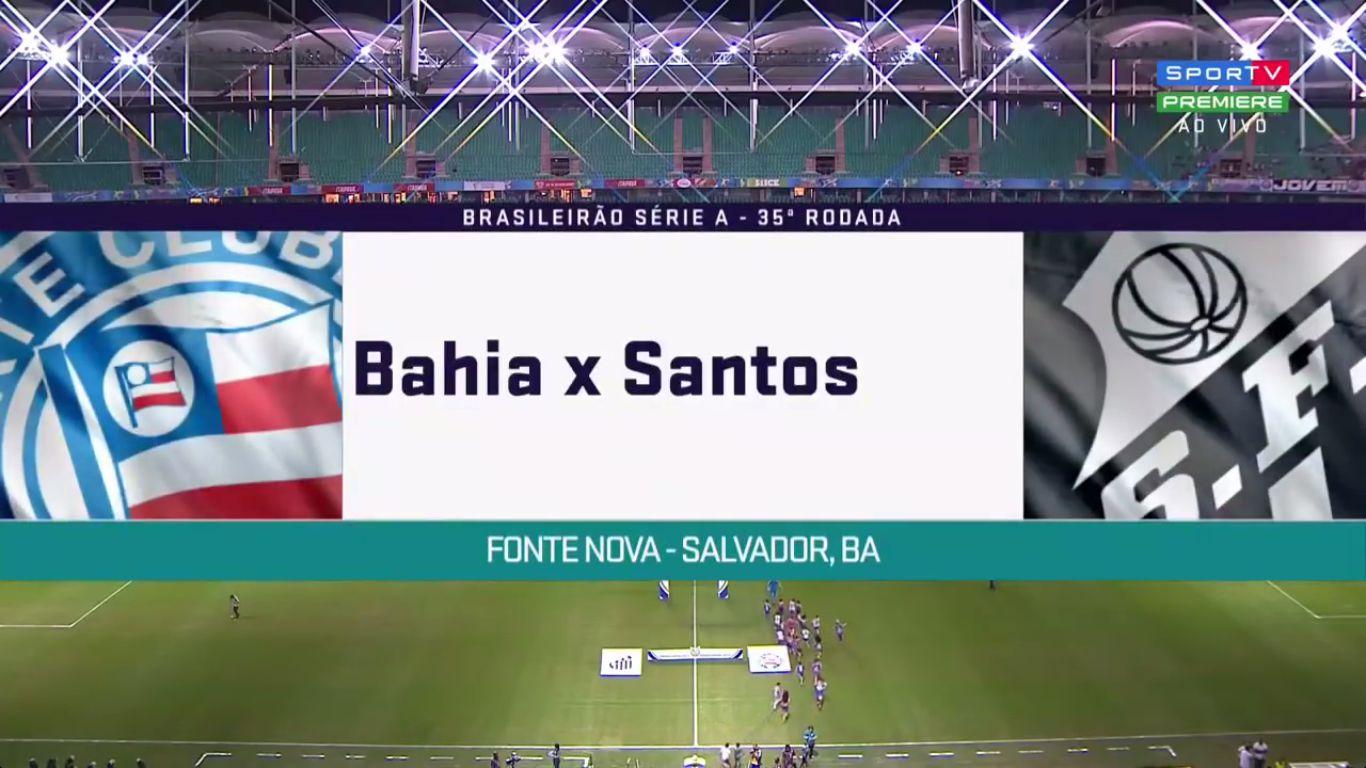 17-11-2017 - Bahia 3-1 Santos FC