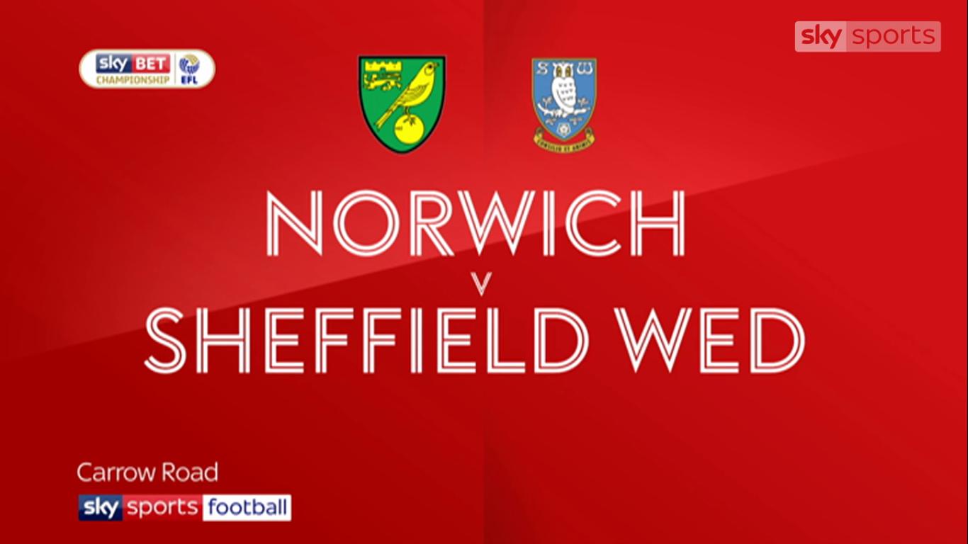 09-12-2017 - Norwich City 3-1 Sheffield Wednesday (CHAMPIONSHIP)