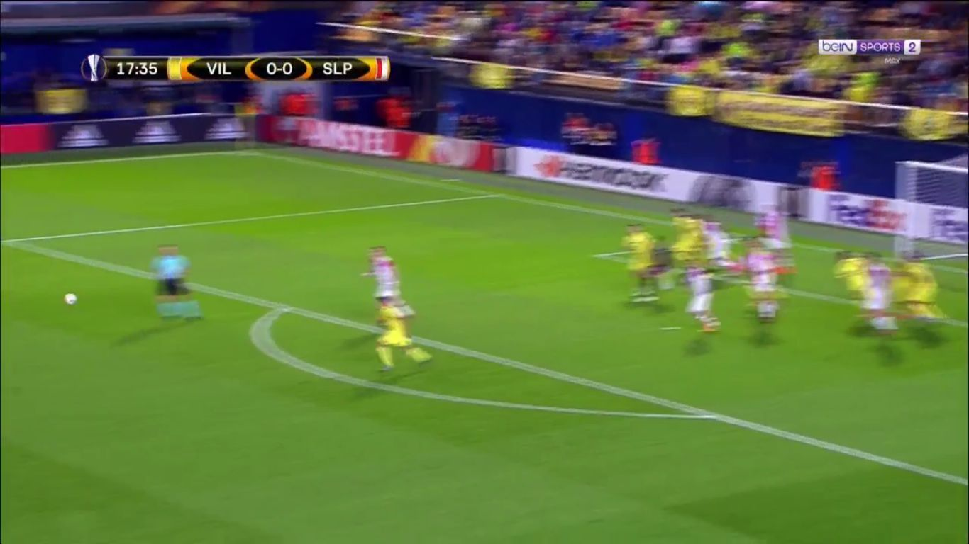 19-10-2017 - Villarreal 2-2 Slavia Prague (EUROPA LEAGUE)