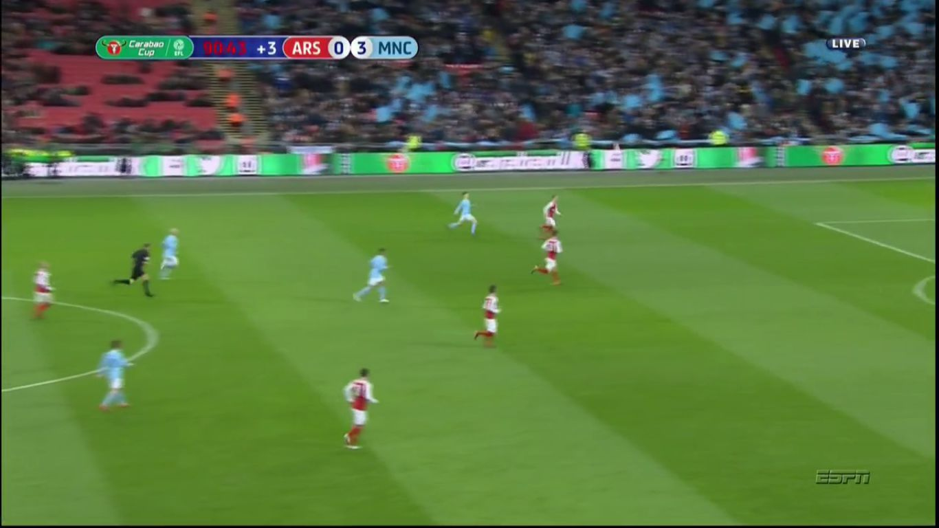 25-02-2018 - Arsenal 0-3 Manchester City (EFL CUP - FINAL)