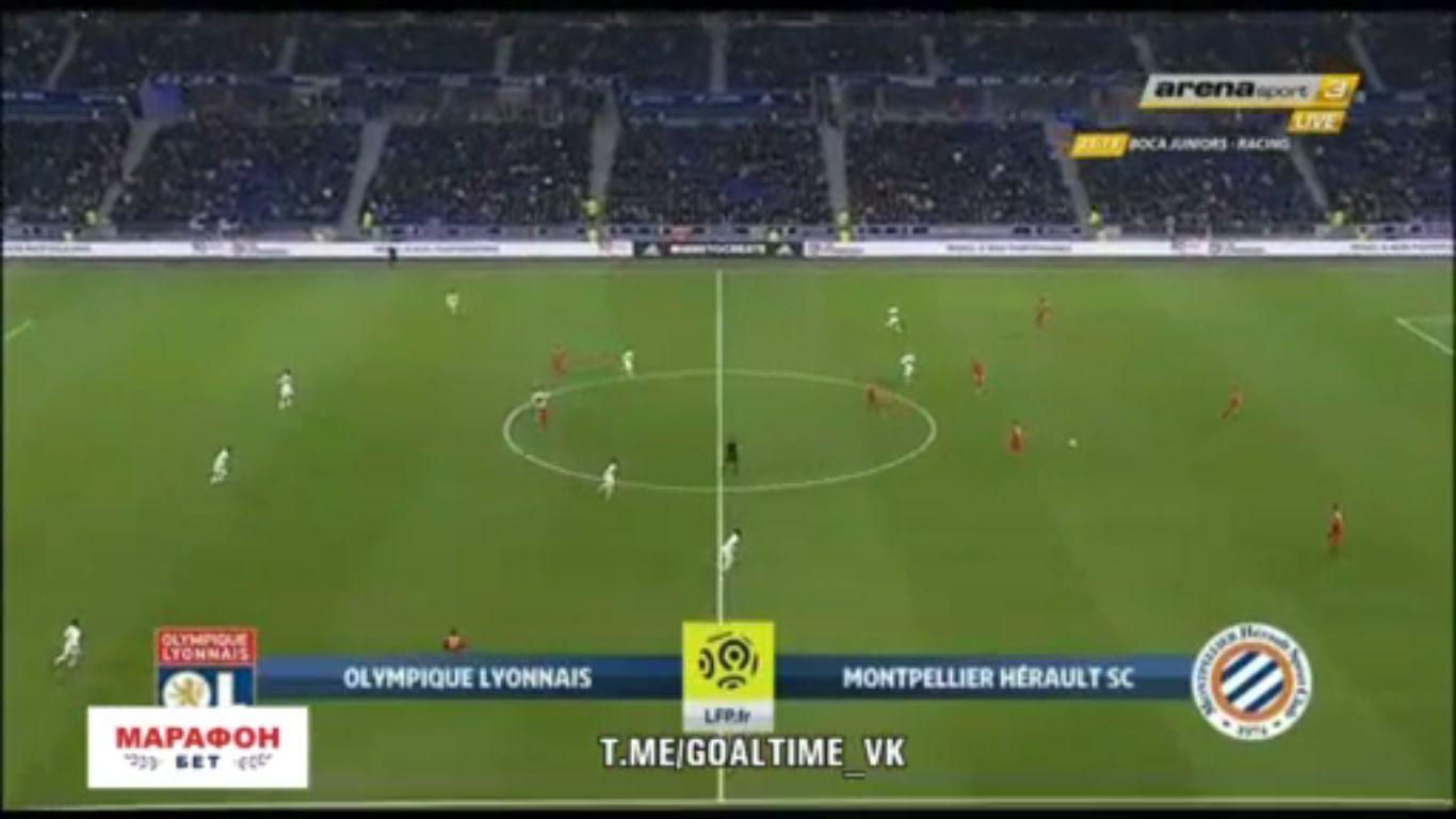 19-11-2017 - Lyon 0-0 Montpellier