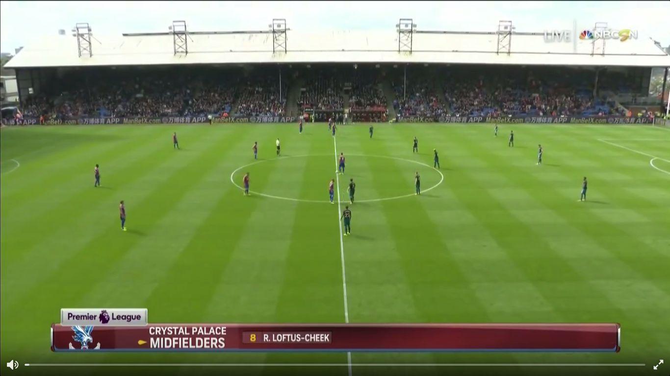 16-09-2017 - Crystal Palace 0-1 Southampton