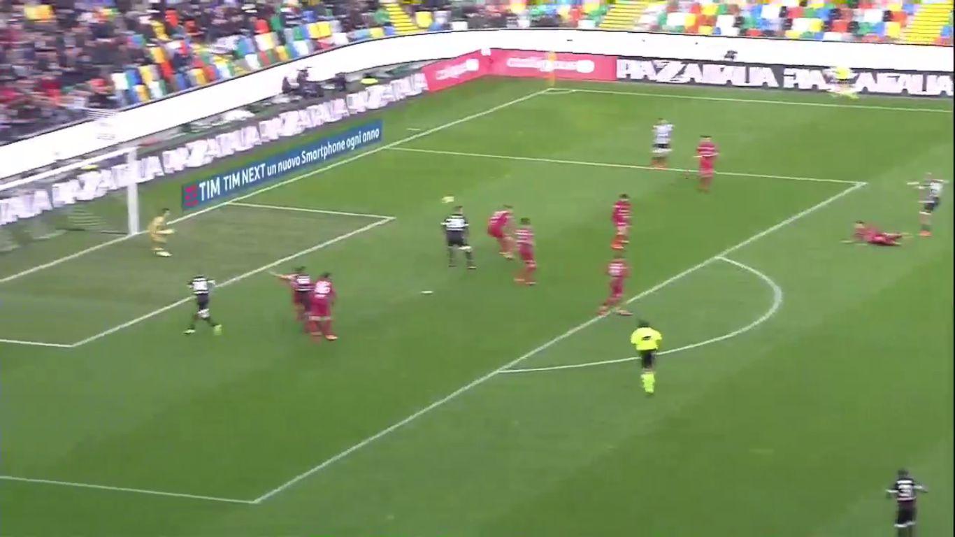 19-11-2017 - Udinese 0-1 Cagliari